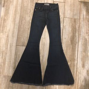 Free People extreme flare Jeans